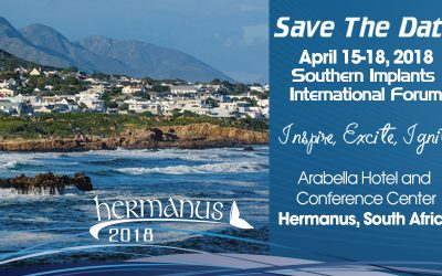 April 15-18, 2018 – Save The Date – International Forum – Inspire, Imagine, Ignite – Hermanus South Africa