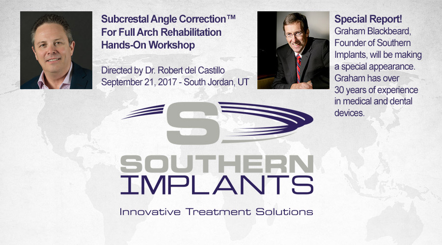 September 21, 2017 – Subcrestal Angle Correction™ For Full Arch Rehabilitation Hands-On Workshop