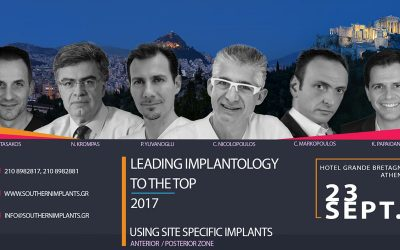 September 23, 2017 – LEADING IMPLANTOLOGY TO THE TOP 2017