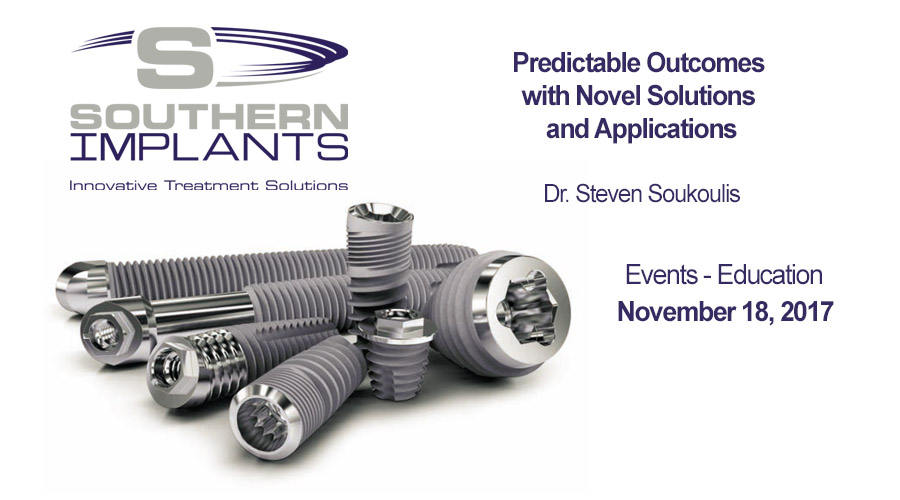 November 18, 2017 – Predictable Outcomes with Novel Solutions and Applications