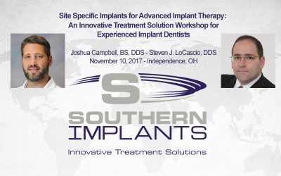 November 10, 2017 – Site Specific Implants for Advanced Implant Therapy