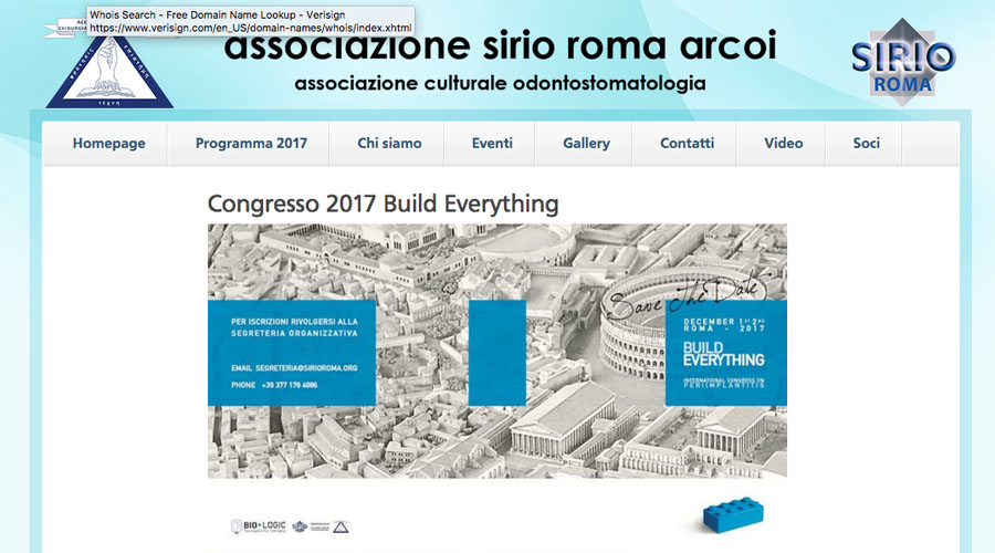"December 1 -2, 2017 – ""Build Everything"" international congress on peri-implantitis"