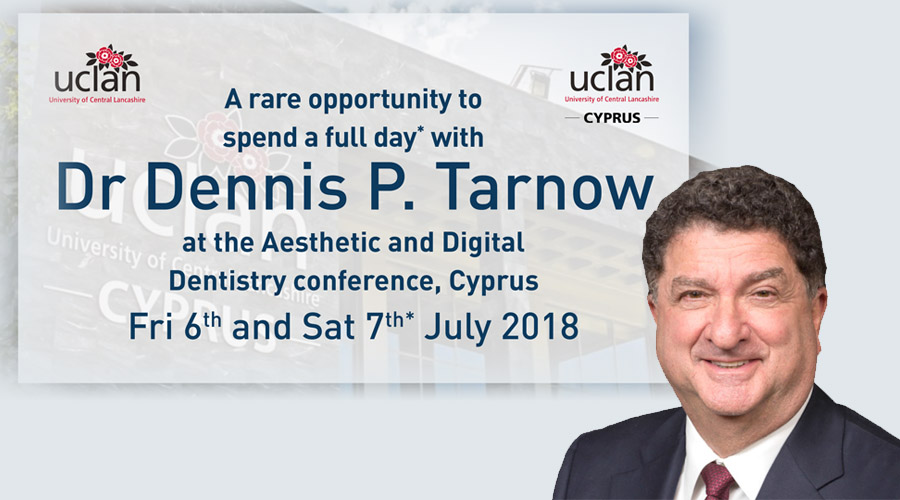 July 6 and 7, 2018 –  A rare opportunity to spend a full day* with Dr. Dennis P. Tarnow