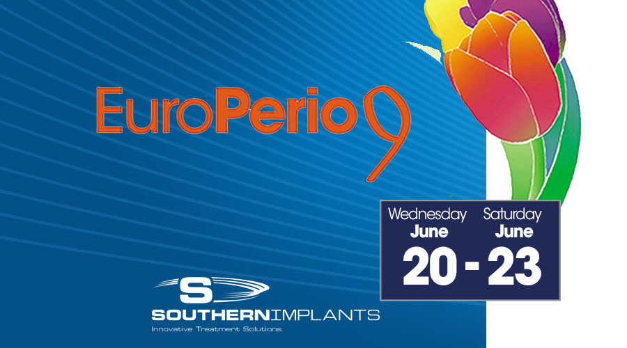 June 20 – 23, 2018 – EuroPerio 9 – 9th Congress of European Federation of Periodontology