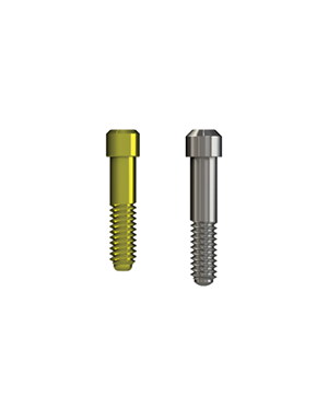 Gold or Titanium Abutment Screw