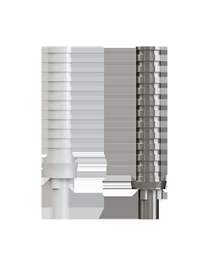Tillfällig Cylinder PEEK / Titanium