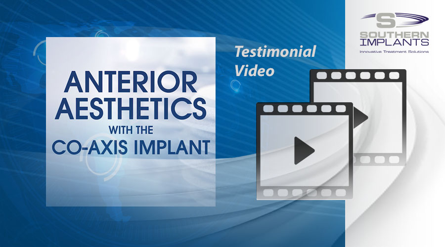 Dr. Petros Yuvanonglu, Dubai, UAE – Anterior Aesthetics with the Co-Axis Implant