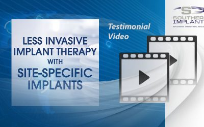 Dr. Douglas Dompkowski, Bethesda, USA – Less Invasive Implant Therapy with Site-Specific Implants