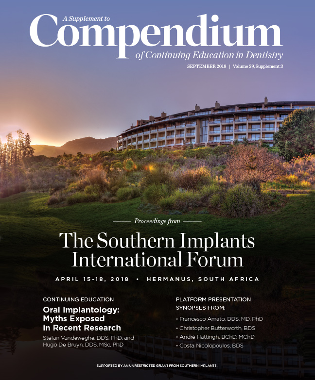 A supplement to Compendium, September 2018, Volume 35, Issue 3