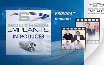 PROVATA ™ - Southern Implants Advanced Dental Implant System - Nu tillgängligt i USA