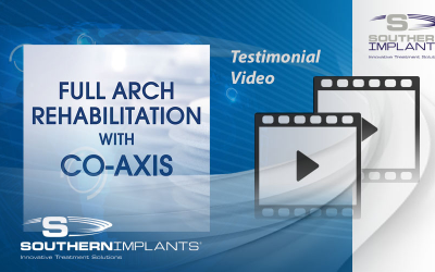 Dr. Robert del Castillo – Miami Lakes, USA – Full Arch Rehabilitation with Co-Axis Implants – 1