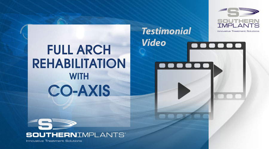 Dr. Robert del Castillo - Miami Lakes, USA - Full Arch Rehabilitation with Co-Axis Implants - 1