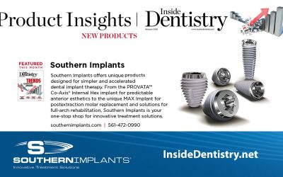 Did you see Southern Implants Innovative Treatment Solutions in the latest issue of Inside Dentistry? See it now!