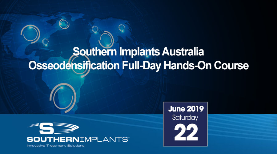 June 22, 2019 – Osseodensification Full-Day Hands-On Course