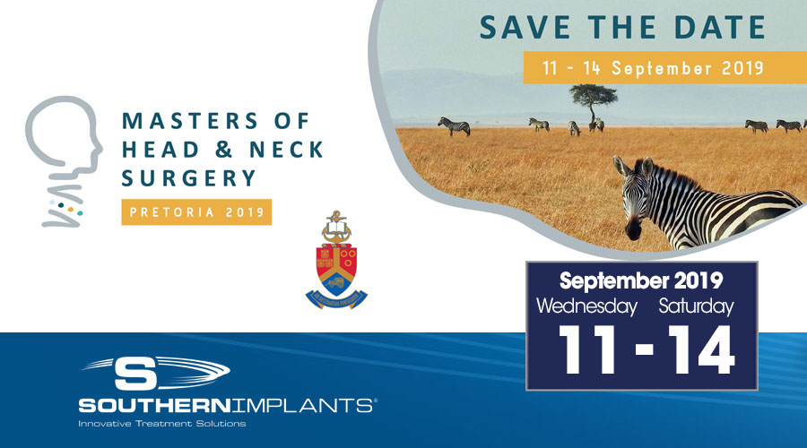 September 11-14, 2019 – MASTERS OF HEAD & NECK SURGE