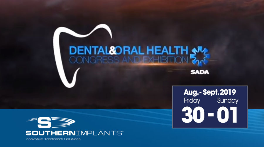 August 30 – September 1, 2019 – SADA Dental & Oral Health Congress and Exhibition 2019