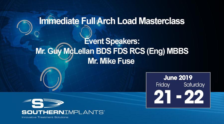 June 21-22, 2019 – Immediate Full Arch Load Masterclass