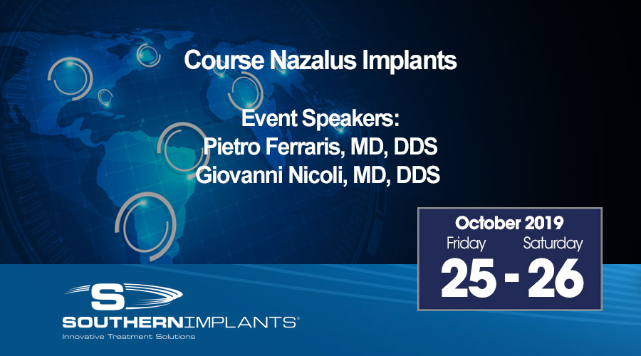 October 25-26, 2019 – Course Nazalus Implants