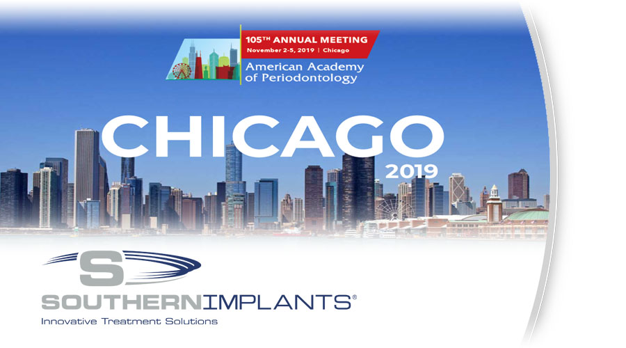 November 2-5, 2019 – American Academy of Periodontology (AAP) 105th Annual Meeting