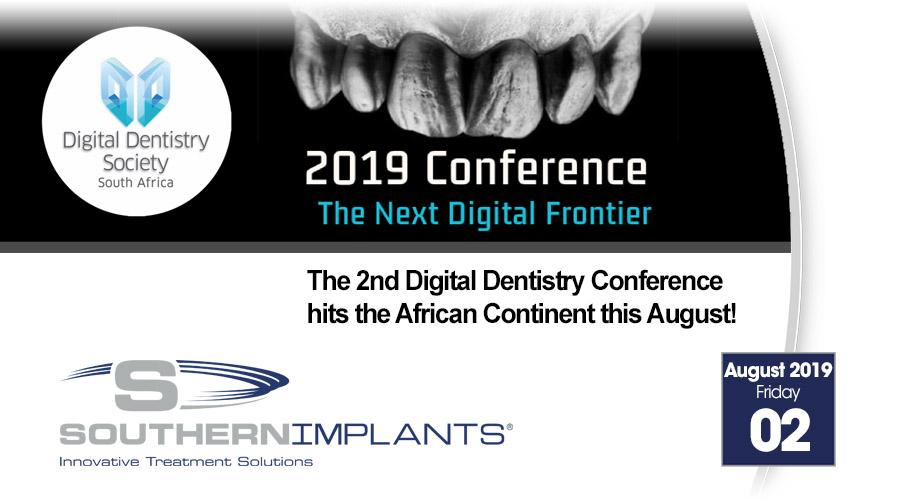 August 2, 2019 – Digital Dentistry Society SA 2019 Conference