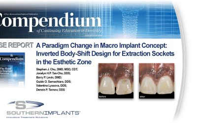 Another Peer Reviewed Article for the INVERTA® Implant is Published, Check it out Here!