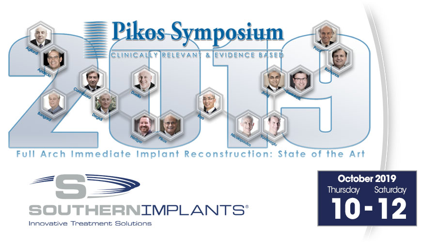 October 10-12, 2019 – Full-Arch Immediate Implant Reconstruction: State of the Art