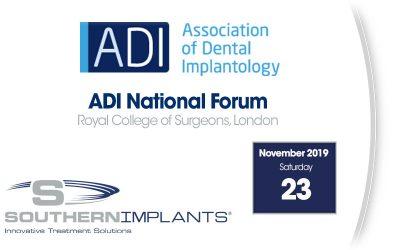 November 23, 2019 – Association of Dental Implantology (ADI) National Forum