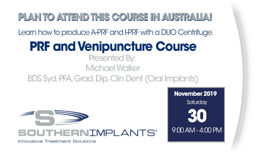 November 30, 2019 – PRF and Venipuncture Course