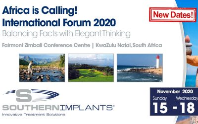 November 15 – 18, 2020 – Southern Implants International Forum