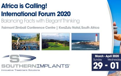 March 29 – April 1, 2020 – Southern Implants International Forum