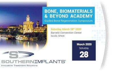March 28, 2020 – Bone Biomaterials & Beyond Academy – Guided Bone Regeneration Symposium 2020