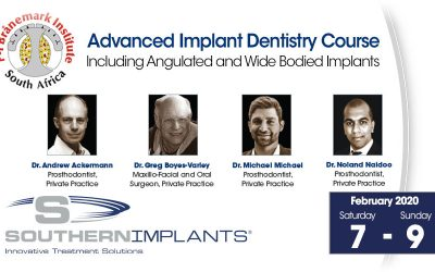 February 7-9, 2020 – Advanced Implant Dentistry Course