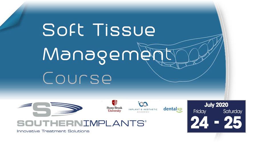 July 24-25, 2020 – Soft Tissue Management Course