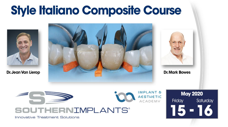 May 15-16, 2020 – Style Italiano Composite Course