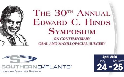 April 24-25, 2020 – Edward C. Hinds Symposium on Contemporary Oral and Maxillofacial Surgery