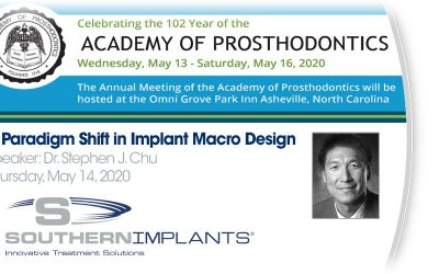 May 13-16, 2020 – North Carolina Academy of Prosthodontics