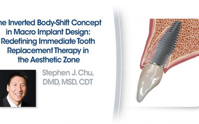 The Inverted Body-Shift Concept in Macro Implant Design: Redefining Immediate Tooth Replacement Therapy in the Aesthetic Zone