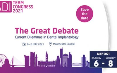 May 6-8, 2021 – Association of Dental Implantology (ADI) Team Congress 2021