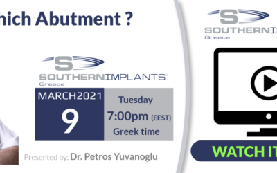 Which Abutment? Presented by Dr Petros Yuvanoglu